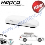 HAPRO Traxer Pure White 6.6 - ����������� ������ (410 lt), ����� �����, Master-Fit Plus, ������� ������ 75 kg, ������� �������, Made in Holland